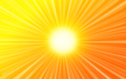 solsken Royaltyfria Bilder