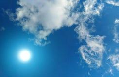 solsken Arkivbilder