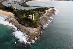 solsken för port för Australien cartwrightkust Arkivfoto
