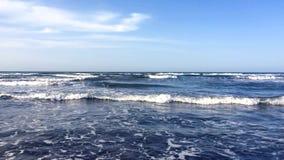 Solsken på havsvågor lager videofilmer