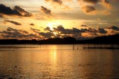 Solst havet Royaltyfria Bilder