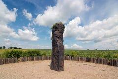 Solstice Celebrations - Menhir Stone Shepherd Royalty Free Stock Photo