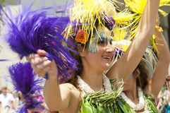 Solstice parade dancer Royalty Free Stock Photography