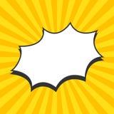 Solstrålar vektor Royaltyfri Fotografi