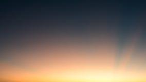Solstråle som bakgrund Royaltyfria Foton