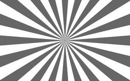 Solstr?lar retro sunburst f?r bakgrund ocks? vektor f?r coreldrawillustration royaltyfri fotografi