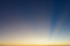 Solstråle som bakgrund Royaltyfri Bild