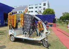 Solsystembil Arkivbild
