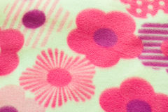 Solt cloth with Flora Stock Images