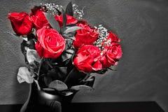 Soltanto colore rosso Immagini Stock