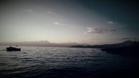 Soltanto la barca Immagine Stock