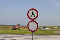 Soltanto per i piloti Immagini Stock Libere da Diritti