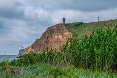 Soltanto riserva della Bulgaria, compreso un aquatorium marino Fotografia Stock