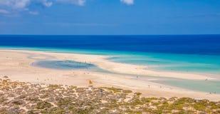 Soltaviento Jandía beach Royalty Free Stock Photography