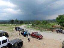 Soltempel, Ranchi, Indien Royaltyfri Fotografi