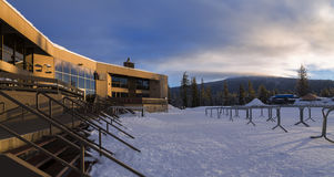 Soltero Ski Resort del Mt Imágenes de archivo libres de regalías
