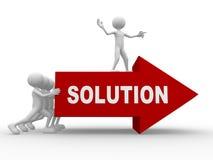 Solução Imagem de Stock