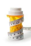 Solução da dieta foto de stock