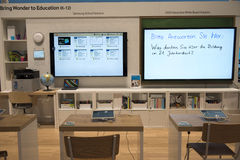 Solução da escola de Samsung Fotos de Stock