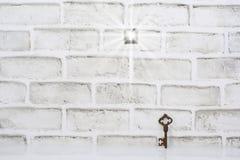 Solução impossível, uma parede sem a porta imagem de stock