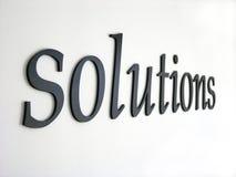 Soluções imagem de stock royalty free