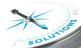 Soluções Fotografia de Stock Royalty Free