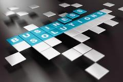 Soluções criativas do negócio Imagens de Stock