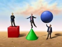 Soluções diferentes Foto de Stock