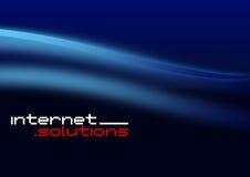 Soluções do Internet Imagens de Stock Royalty Free