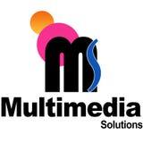 Soluções dos multimédios Foto de Stock