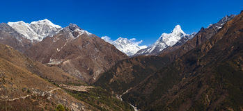 Solu Khumbu Royaltyfri Bild