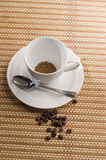 Soluble coffee Royalty Free Stock Image