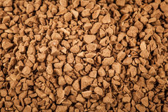 Soluble coffee granules Stock Image
