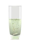 soluble szklana pastylka Fotografia Royalty Free
