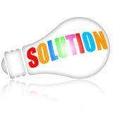 solución Imagen de archivo libre de regalías