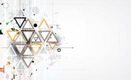 Solución abstracta del negocio de la informática de Internet ilustración del vector