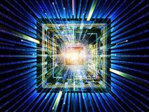 Solución de la CPU Fotografía de archivo