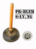 Solución de problemas Fotografía de archivo libre de regalías