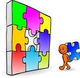 Solución de problemas de Smartoon Imagen de archivo libre de regalías