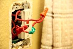 Solución del cableado Fotos de archivo libres de regalías