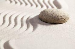 Solución del hallazgo con modo de pensar del zen Foto de archivo libre de regalías