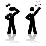 Solución del negocio stock de ilustración