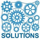Soluciones Foto de archivo