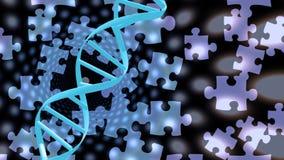 Soluciones de la DNA libre illustration