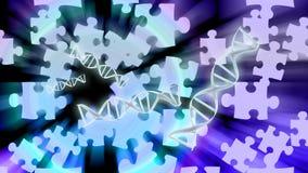 Soluciones de la DNA ilustración del vector