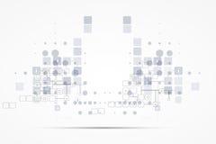 Soluciones del negocio del concepto de la nueva tecnología del ordenador de Internet Imágenes de archivo libres de regalías