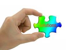 Soluciones a disposición Imágenes de archivo libres de regalías