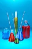 Soluciones químicas Imágenes de archivo libres de regalías