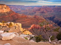 Soluppgång över grandet Canyon Royaltyfri Foto