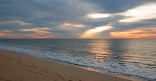 Soluppgång över stranden i San Jose Del Cabo i Baja California Mexico royaltyfria bilder